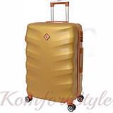 Комплект чемодан и кейс Bonro Next  средний золотой (10066802), фото 3