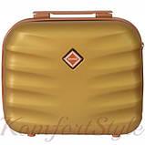 Комплект чемодан и кейс Bonro Next  средний золотой (10066802), фото 6