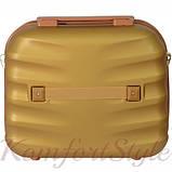 Комплект чемодан и кейс Bonro Next  средний золотой (10066802), фото 7