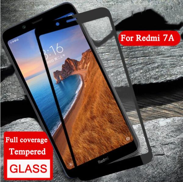 Защитное стекло дважды закаленное 9D для Xiaomi Redmi 7A /