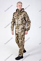 Камуфляжный Костюм Летний B&L Охотничий Пиксель ММ-14, фото 1
