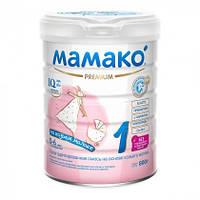 Сухая адаптированная смесь на козьем молоке 1 0-6м+ 400г Мамако 1105300