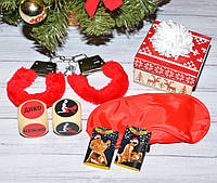 Новогодний Эротический Набор с наручниками Классик, фото 1