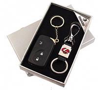 Подарочный набор Lexus зажигалка / брелок, фото 1