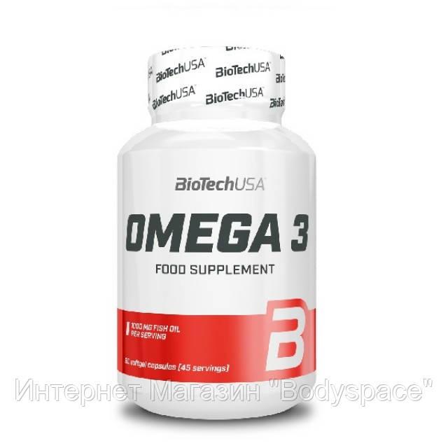 Biotech USA, Рыбий жир Omega 3, 90 капсул