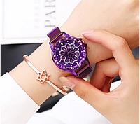 Крутящийся циферблат часы просто бомба магнитный ремешок