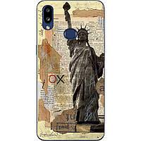 Чехол силиконовый с картинкой для Samsung A10s Galaxy A107F Статуя