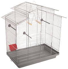 Клетка для птиц Природа Нимфа, хром 70х40х76 см (PR740499)