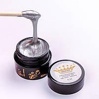 Гель краска Master Professional 5 ml №036 Серебро с шиммерами