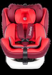 Автокресло Lionelo Bastiaan Isofix 0-36 кг (Red)
