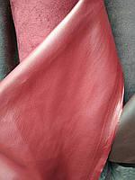 Шкірозамінник стрейч на замшевої основі для пошиття верхнього одягу меблів матові ширина 145 см колір червоний, фото 1