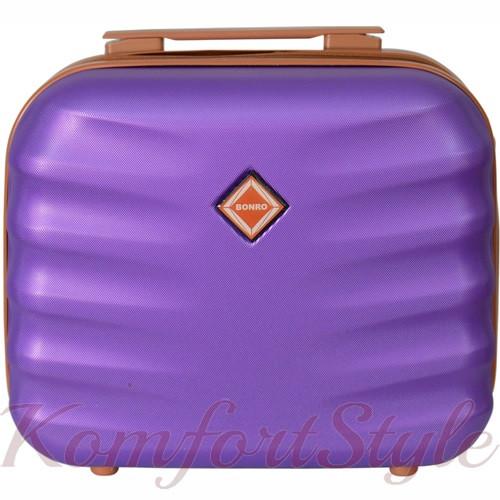 Кейс дорожный Bonro Next средний фиолетовый (10060103)