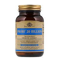 """Пробиотики, SOLGAR """"Probi 20 Billion"""" (30 капсул)"""
