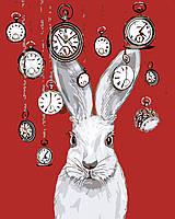 Художественный творческий набор, картина по номерам Кролик и часы, 40x50 см, «Art Story» (AS0552), фото 1