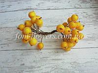 Калина в сахаре Золотисто Желтая, 1,2 см