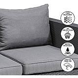Набор садовой мебели Salta 3-Seater Sofa из искусственного ротанга ( Allibert by Keter ), фото 9