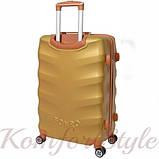 Дорожный чемодан на колесах Bonro Next средний золотой (10642402), фото 2
