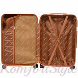 Дорожный чемодан на колесах Bonro Next средний золотой (10642402), фото 3