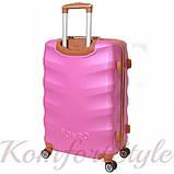 Дорожный чемодан на колесах Bonro Next средний розовый (10642406), фото 2