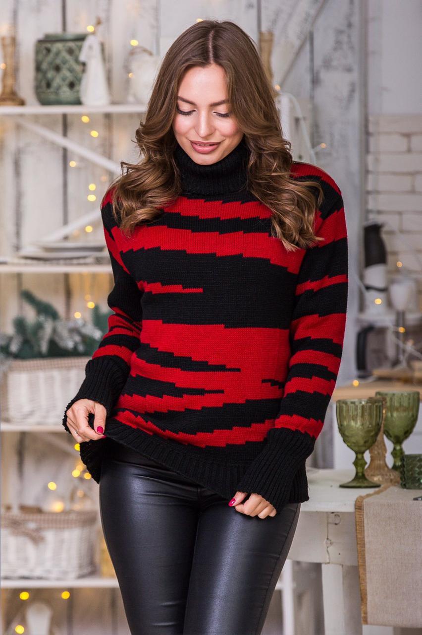 Свитер женский модные свитера 2019 Красный