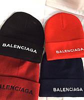 Женская зимняя теплая вязанная шапка, фото 1