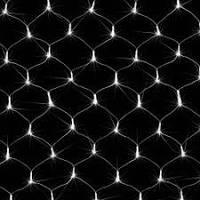 Гирлянда сетка светодиодная 120 LED белый цвет 1,4х1,15метра