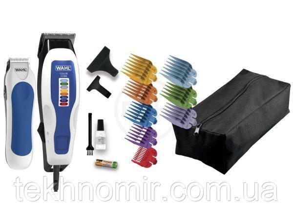 Машинка для стрижки + триммер Wahl 1395-0465 Color Pro Combo