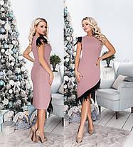 Платье со съемными рукавами в расцветках 706040, фото 2