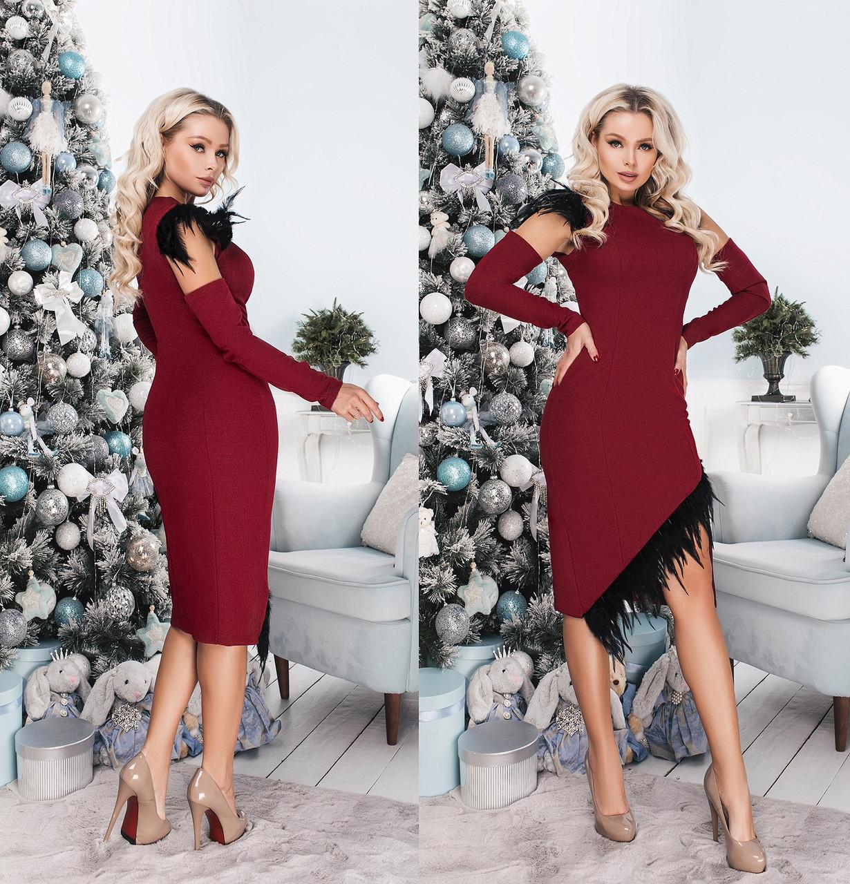 Сукня зі знімними рукавами в кольорах 706040