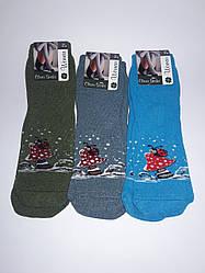 Женские махровые носки