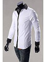 Рубашка мужская черная