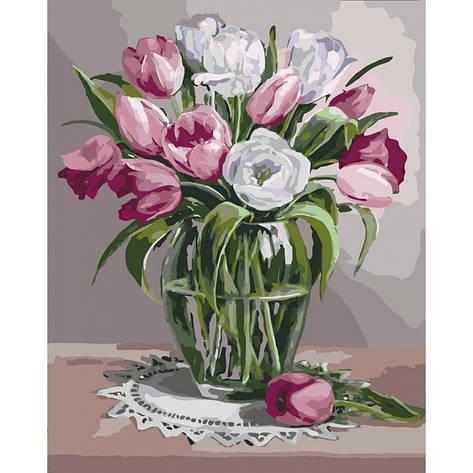 Картина по номерам Весняний аромат КНО3041 Идейка 40x50см, фото 2
