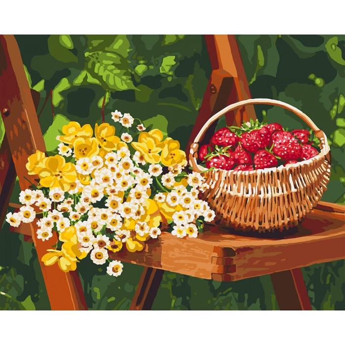 Картина по номерам Летние дары КНО5560 Идейка 40x50см