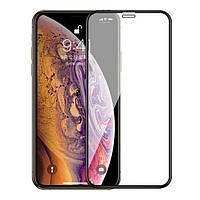 Захисне скло Apple iPhone 11 Pro Max/iPhone Xs Max 9H Full Glue Glass (чорне) Infinity