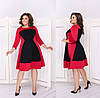 Приталенное женское платье с карманами  48-50, 52-54, 56-58, фото 3