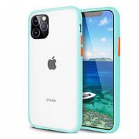 Накладка для iPhone 11 Pro Max (6.5) TPU LikGus Maxshield Синьо-Зелений