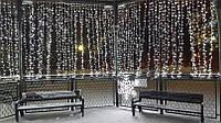 Гирлянда Штора Уличная 2х2 метра 216 led / Premium Curtain IP 65 Световой занавес