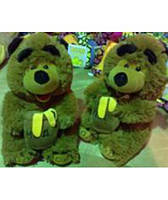 Мягкая игрушка озвученная медведь с бочкой мёда 2125-28