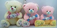 Мягкая игрушка озвученная медведь с конфетой SP67075