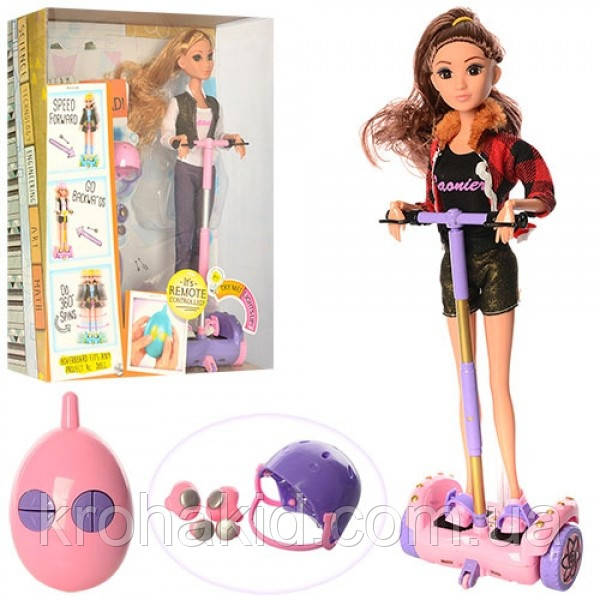 Кукла с аксессуарами Huada Toys Кукла на ру на гироборде (JJ8833)