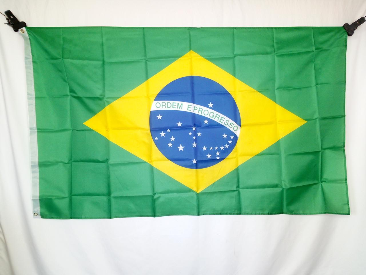 Флаг Бразилии 90х150см