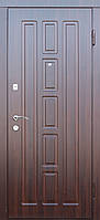 """Входная дверь для улицы """"Портала"""" (Элегант Vinorit) ― модель Квадро, фото 1"""