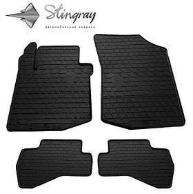 Гумові килимки Пежо 107 Peugeot 107 2005 - Stingray комплект чорний