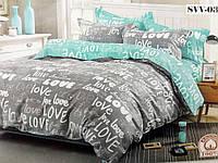 """Комплект постельного белья """"Love"""" Бязь,100% хлопок"""
