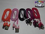 Кабель Micro USB 2A 1,2, 3 метра шнур зарядки и синхронизаци, фото 3
