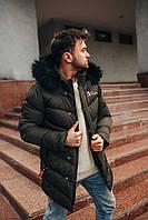 Куртка зимняя мужская с мехом