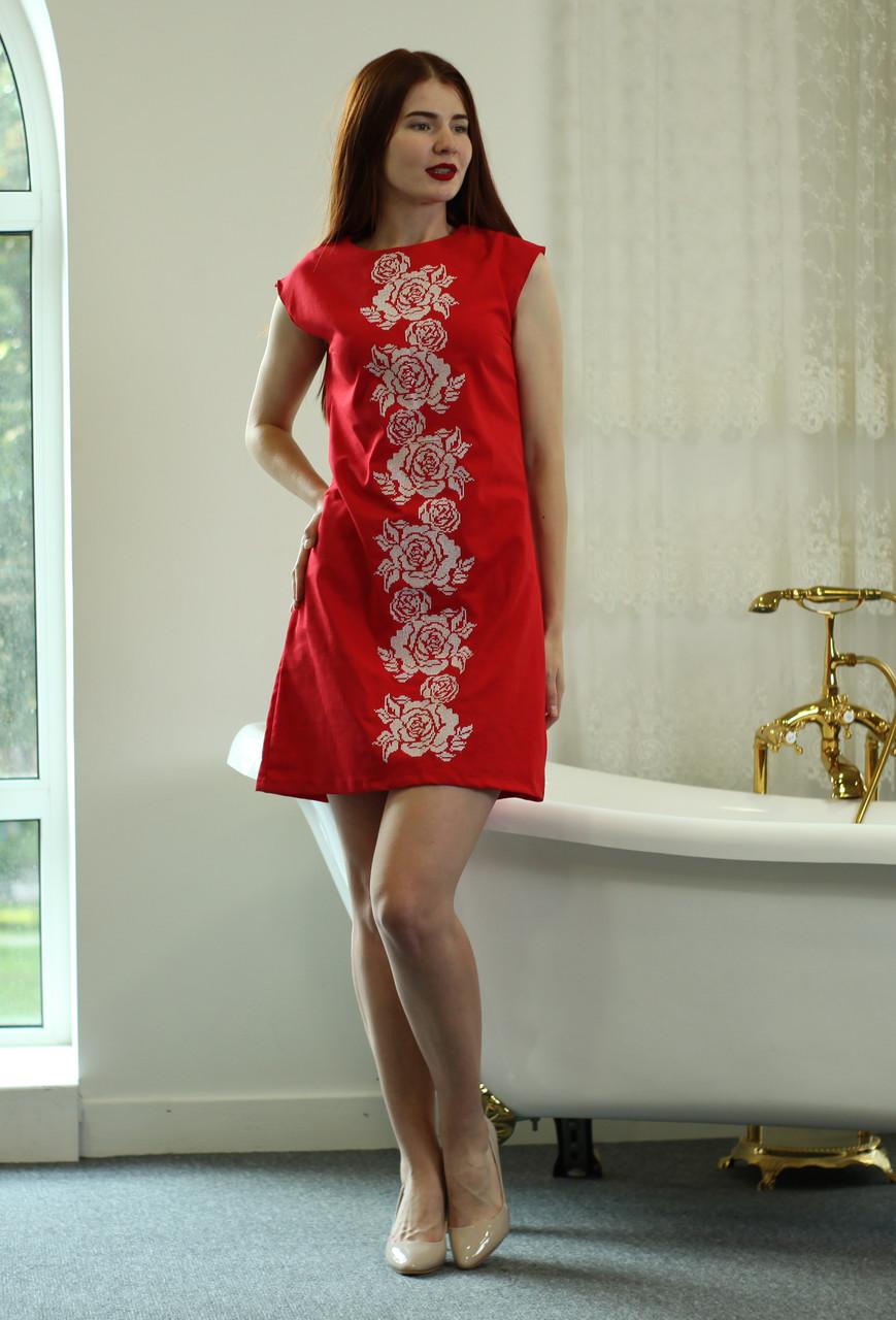 "Жіноче вишите плаття ""Валері"" (Женское вышитое платье ""Валери"") PJ-0020"