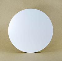 Подложка  усиленная круг белая двп Д 45 см h 3 мм