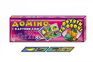 """Доміно """"Фрукти та овочі ТехноК""""(картонне), 2643 в кор. 40×13.5×3.5 см"""