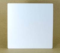 Подложка  усиленная квадрат белая двп  Д 45*45 см h 3 мм